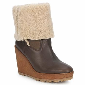 Pantofi Femei Botine Pare Gabia NELICE Ciocolatiu