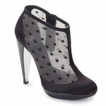 Pantofi Femei Botine Azzaro INTERLUDE Negru