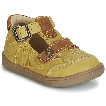 Pantofi Băieți Sandale  GBB AREZO MuȘtar