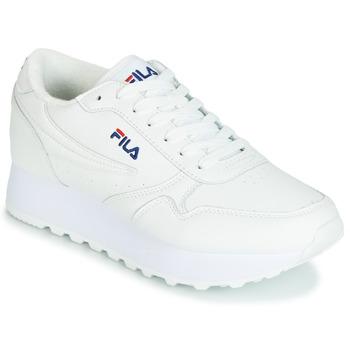 Pantofi Femei Pantofi sport Casual Fila ORBIT ZEPPA L WMN Alb