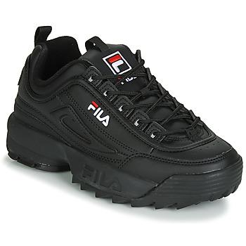 Încăltăminte Femei Pantofi sport Casual Fila DISRUPTOR LOW WMN Negru