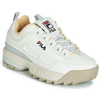Încăltăminte Femei Pantofi sport Casual Fila DISRUPTOR CB LOW WMN Alb / Gri