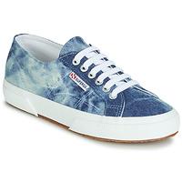 Pantofi Pantofi sport Casual Superga 2750 TIE DYE DENIM Albastru