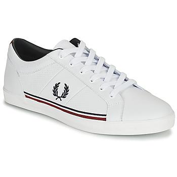 Încăltăminte Bărbați Pantofi sport Casual Fred Perry B722 Alb