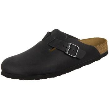 Pantofi Femei Saboti Birkenstock Boston Negre