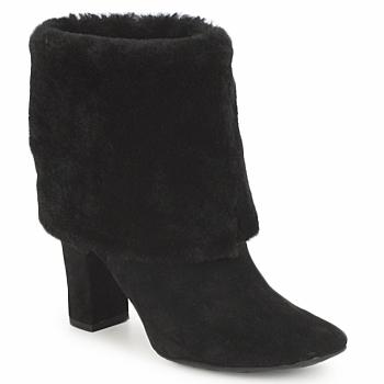 Pantofi Femei Botine Rockport HELENA CUFFED BOOTIE Negru