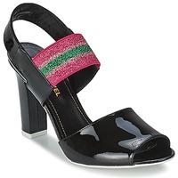 Pantofi Femei Sandale  Sonia Rykiel 683902 Negru / Roz