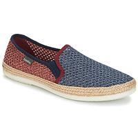Pantofi Bărbați Espadrile Bamba By Victoria ANDRE ELASTICOS REJILLA BICO Albastru / Roșu