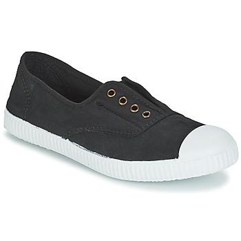 Încăltăminte Pantofi sport Casual Victoria INGLESA ELASTICO TINTADA Negru