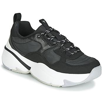 Încăltăminte Femei Pantofi sport Casual Victoria AIRE NYLON/SERRAJE PU Negru