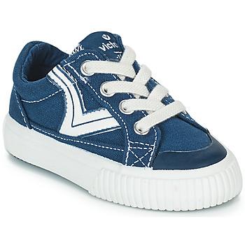 Încăltăminte Copii Pantofi sport Casual Victoria TRIBU LONA RETRO Albastru