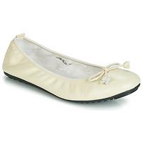 Pantofi Femei Balerin și Balerini cu curea Mac Douglas ELIANE Ecru