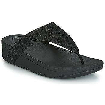 Pantofi Femei  Flip-Flops FitFlop LOTTIE GLITZY Negru