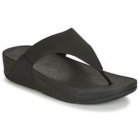 Pantofi Femei  Flip-Flops FitFlop LULU SHIMMERLUX Negru