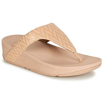 Pantofi Femei  Flip-Flops FitFlop LOTTIE CHEVRON SUEDE Roz