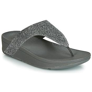 Pantofi Femei  Flip-Flops FitFlop LOTTIE GLITZY Argintiu