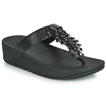 Încăltăminte Femei  Flip-Flops FitFlop JIVE TREASURE Negru