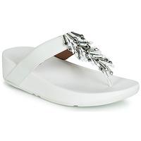 Pantofi Femei  Flip-Flops FitFlop JIVE TREASURE Alb