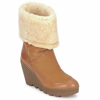 Pantofi Femei Botine Ash VARUSHKA Camel