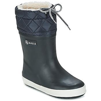 Pantofi Copii Cizme de zapadă Aigle GIBOULEE Bleumarin / Alb