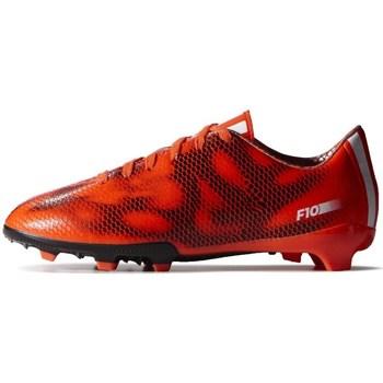 Pantofi Copii Fotbal adidas Originals F10 FG J Negre,Portocalie