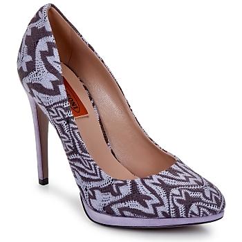 Încăltăminte Femei Pantofi cu toc Missoni SM113 Bej / Liliac