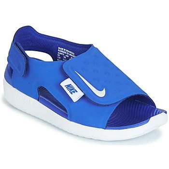Pantofi Băieți Sandale și Sandale cu talpă  joasă Nike SUNRAY ADJUST 5 Albastru