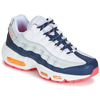 Pantofi Femei Pantofi sport Casual Nike AIR MAX 95 W Alb / Albastru / Portocaliu